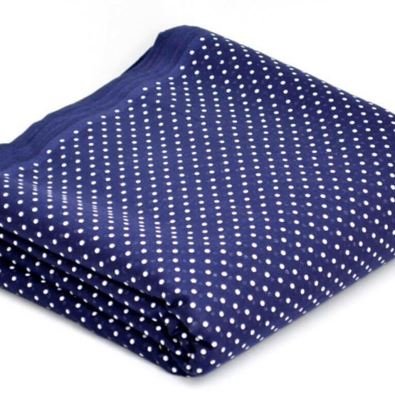 Dotted Khalsa Blue | Buy Full Voile Turban Cloth
