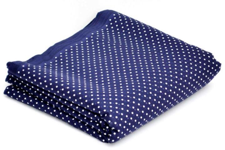 Dotted Khalsa Blue | Buy Full Voile Turban Cloth
