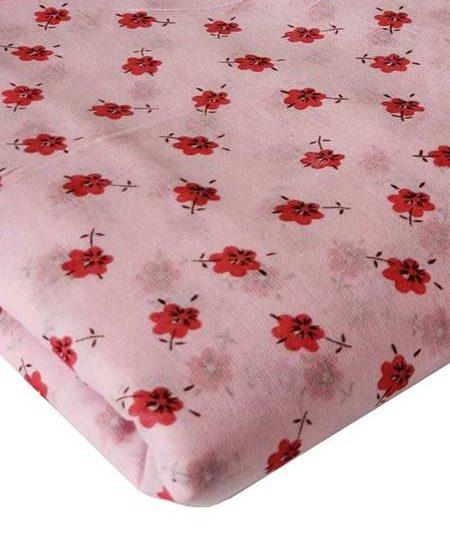 Floral Pink Turban